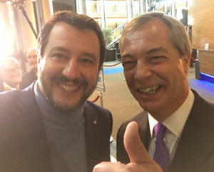 Brexit and Italy - Farage and Salvini